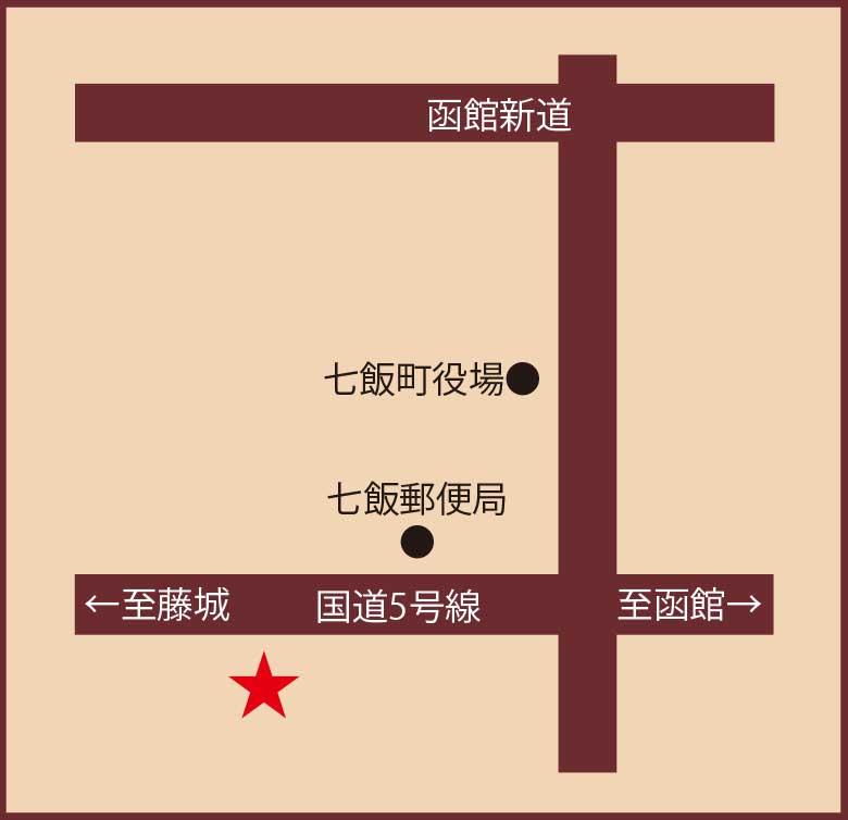 ゆうひの館周辺地図