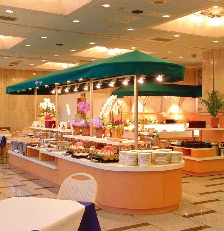 湯の川プリンスホテル渚亭・松風苑のビュッフェ