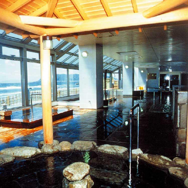 湯の浜ホテルのお風呂