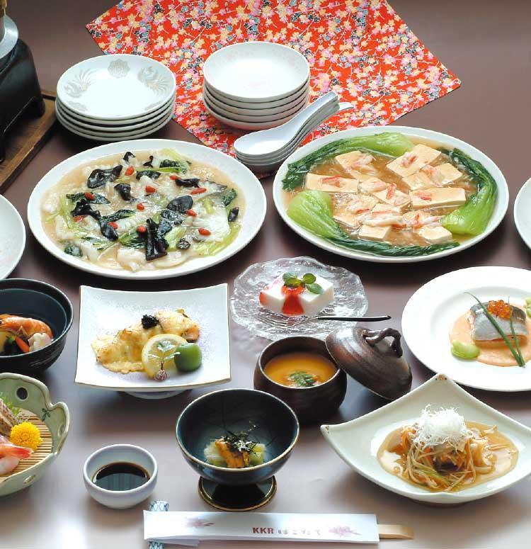 KKRはこだての和中会席コース料理