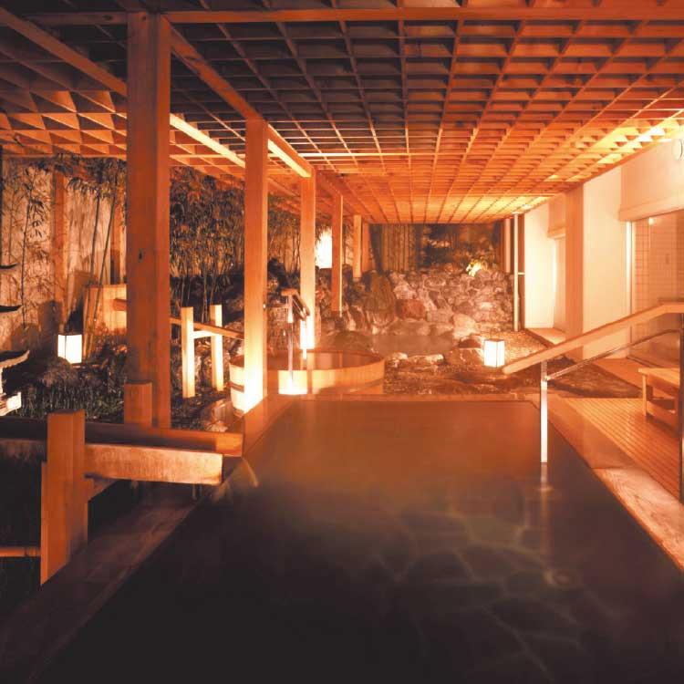 花びしホテルの露天風呂