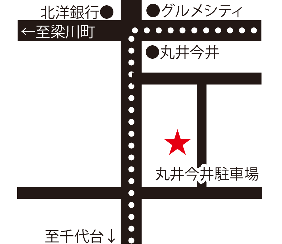 Falk Sakaba高円寺周辺地図
