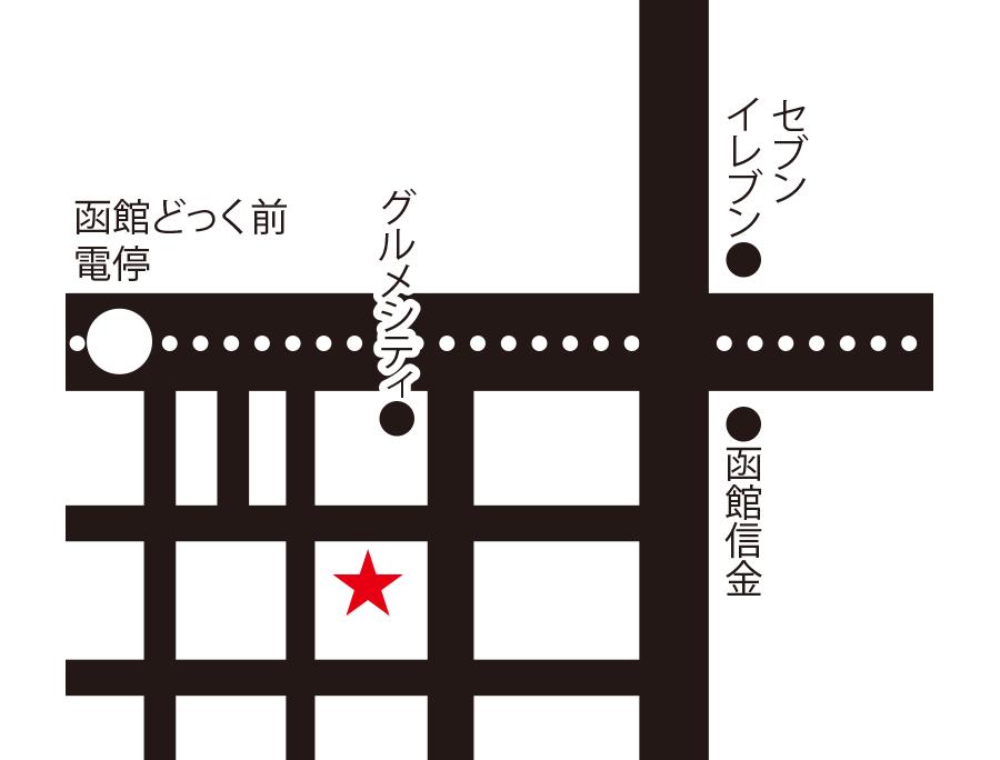 ヨシヤ周辺地図