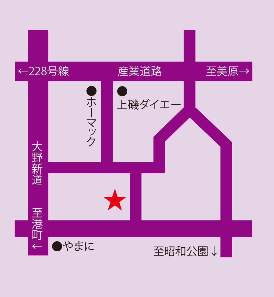 ジョリジュワジョイス周辺地図