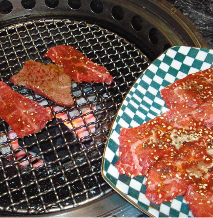 焼肉梁山泊のコースお肉