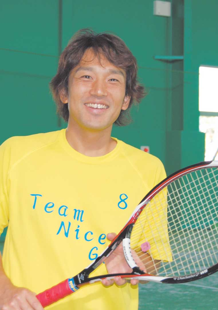 アクティブテニスアカデミーテニスコーチ松下博信さん