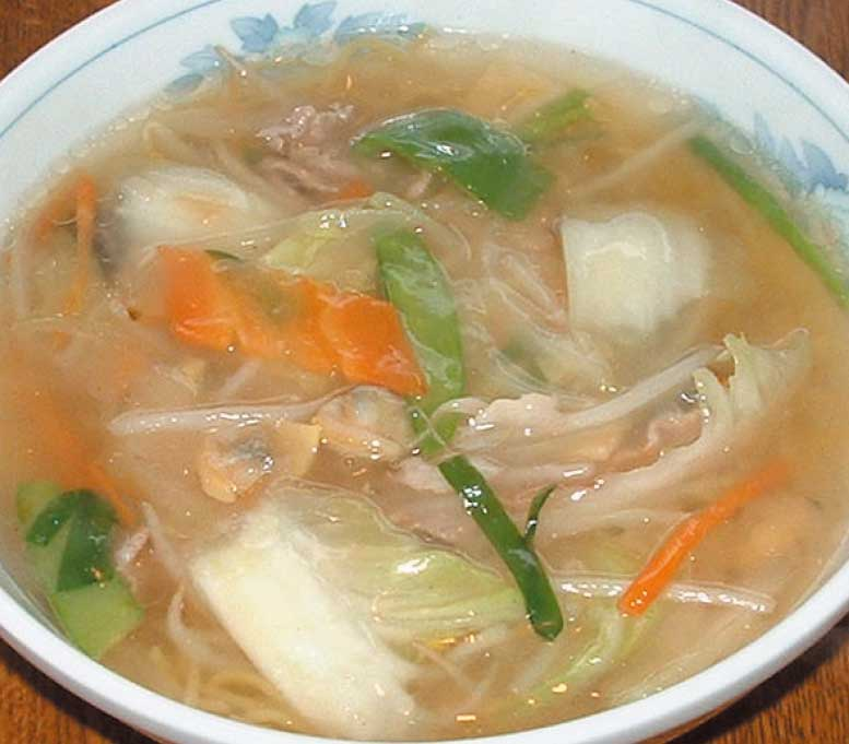 六花の広東麺