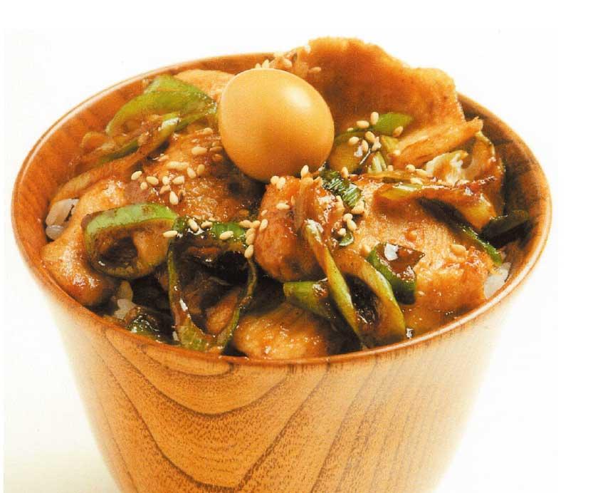 らあめん覿・麺のトントロねぎ飯
