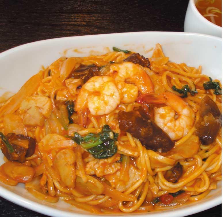 中国料理廣河の中華ナポリ