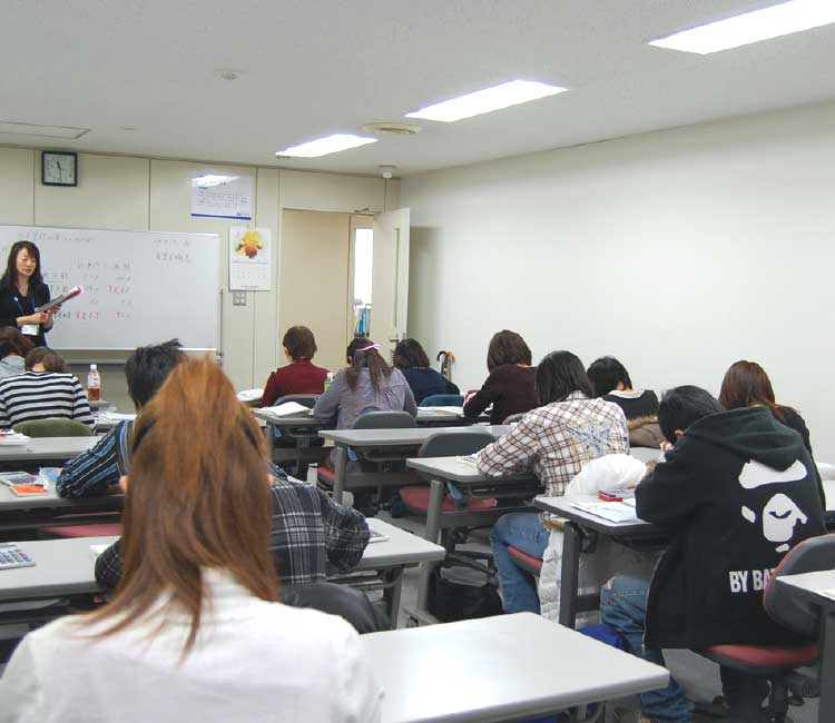 ニチイ学館の授業風景