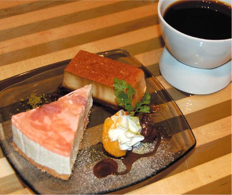 カフェTUTUのケーキセット