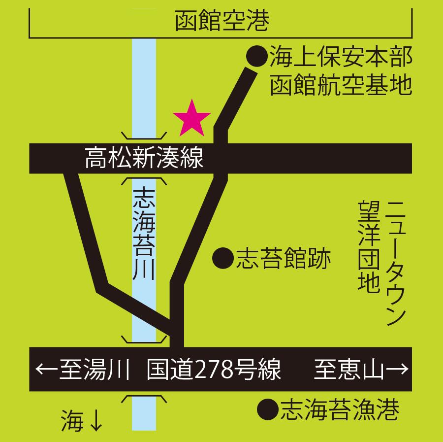 空港緑地志海苔ふれあい広場周辺地図
