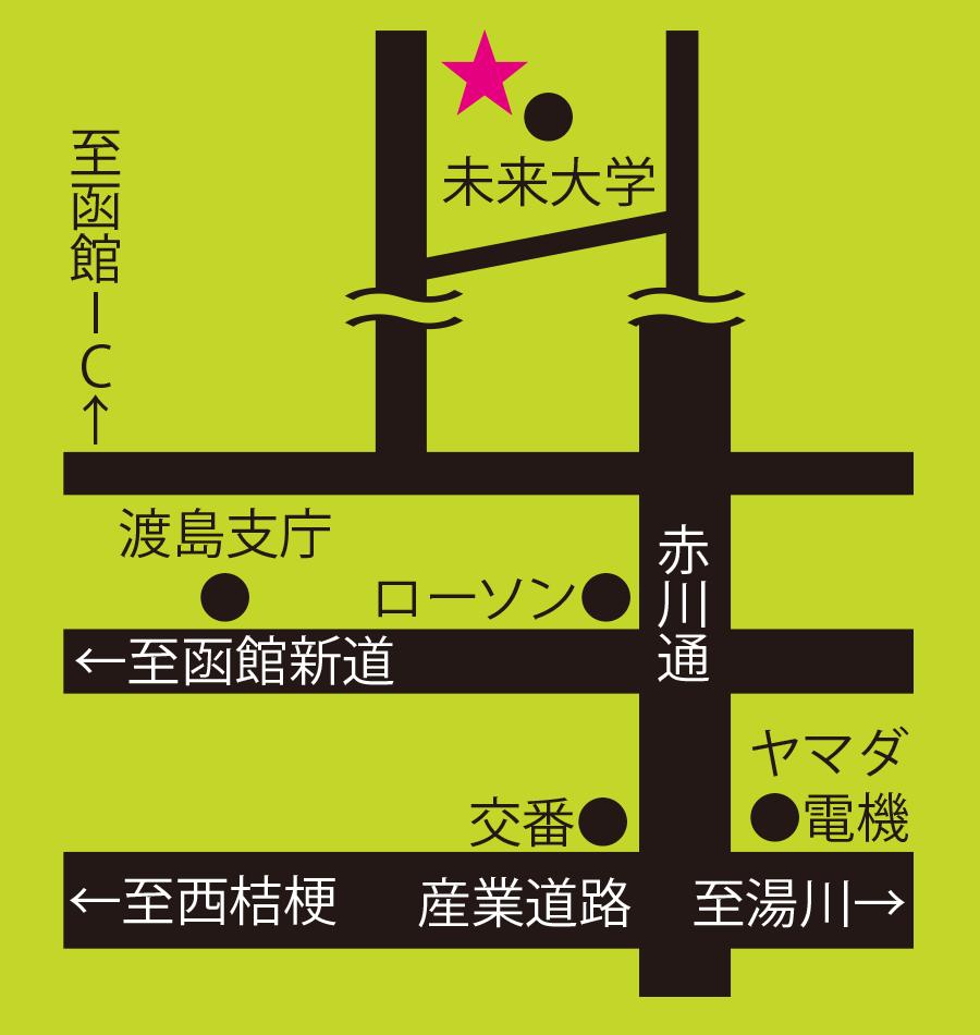 北海道立道南四季の杜公園周辺地図