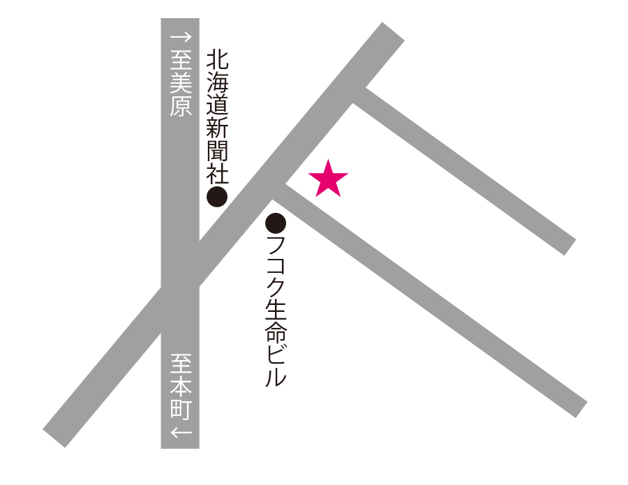 カフェレストaxis周辺地図