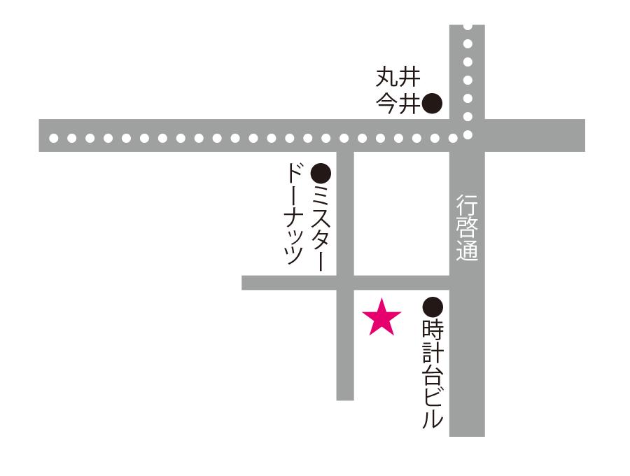 旬・菜・花の実周辺地図