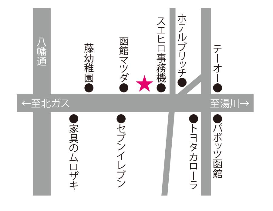 李太白周辺地図