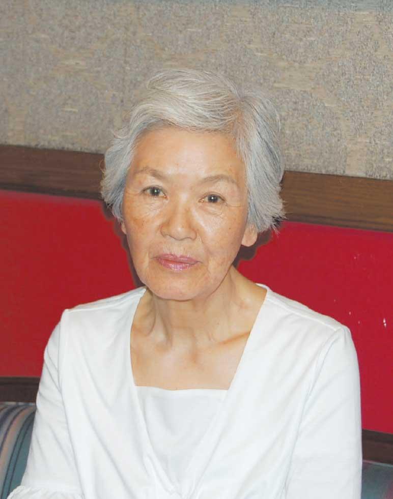 テニスプレイヤー西俣栄子さん