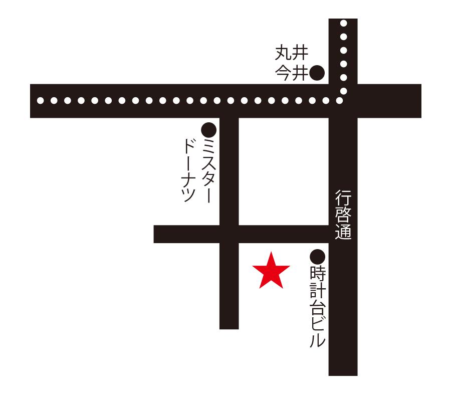 旬・菜・居酒屋花の実周辺地図