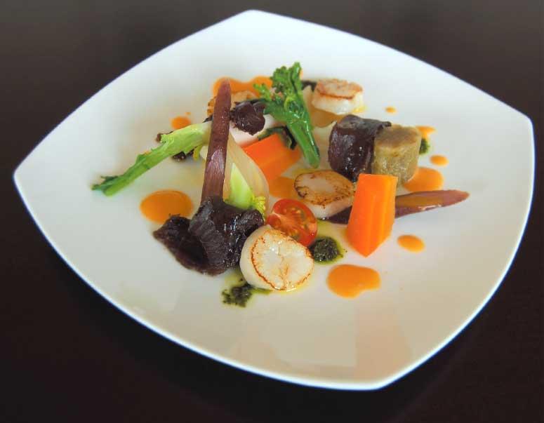 ル・ヴァンの季節野菜のパレット