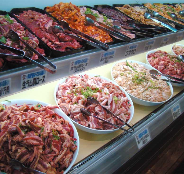 本格炭火焼バイキング焼肉番長の食べ放題お肉