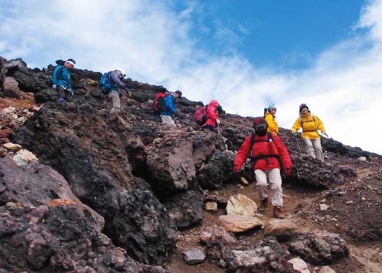 自然倶楽部による登山