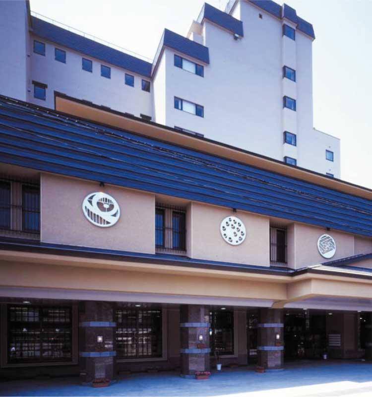 JR北海道函館支社の浅虫温泉ツアーで泊まるホテル外観