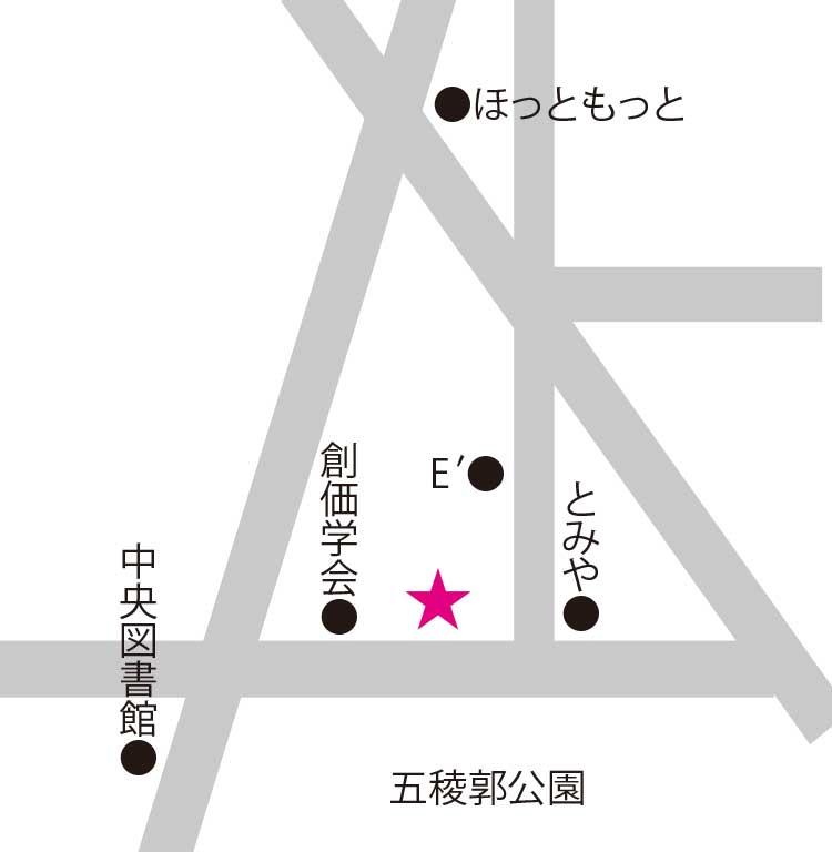 香りのショップ・スクール・サロンアロマセラピー香音周辺地図