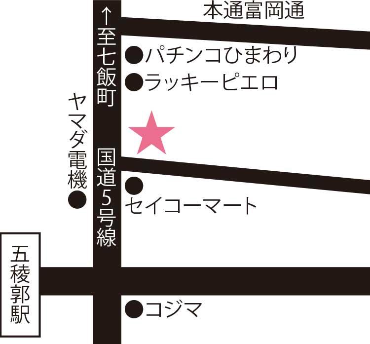 石黒商店周辺地図