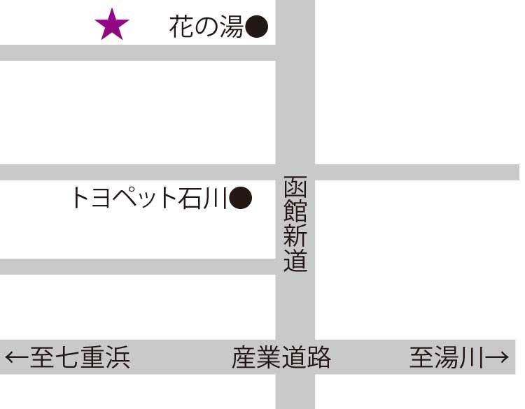 蕎麦屋大阪屋周辺地図