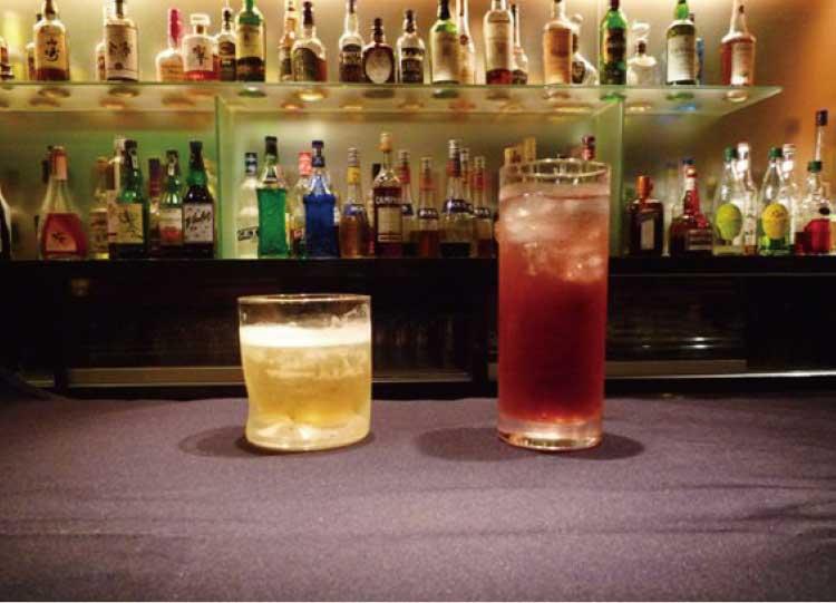 ホテルリソル函館内バーファーストのいい夫婦の日特別プランオリジナルカクテル