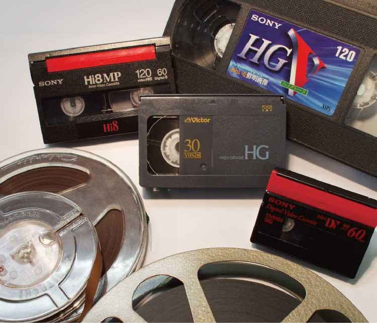 8㎜フィルム工房で扱える古いフィルムとテープ