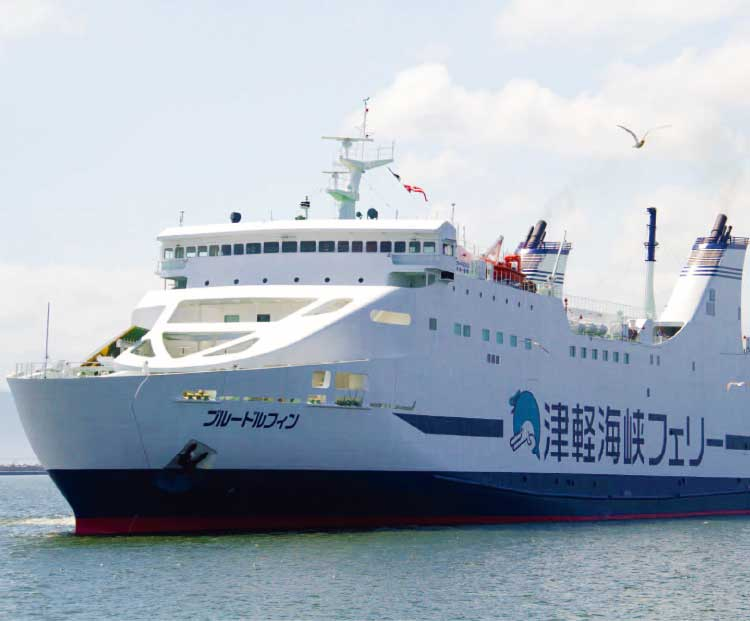 津軽海峡フェリーのブルードルフィン