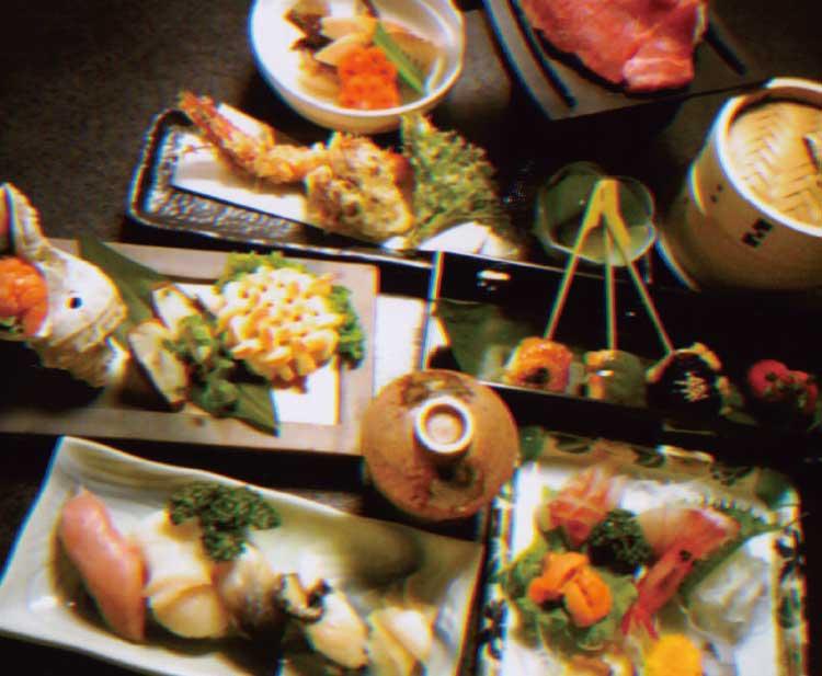 四季花菜の宴会コース料理