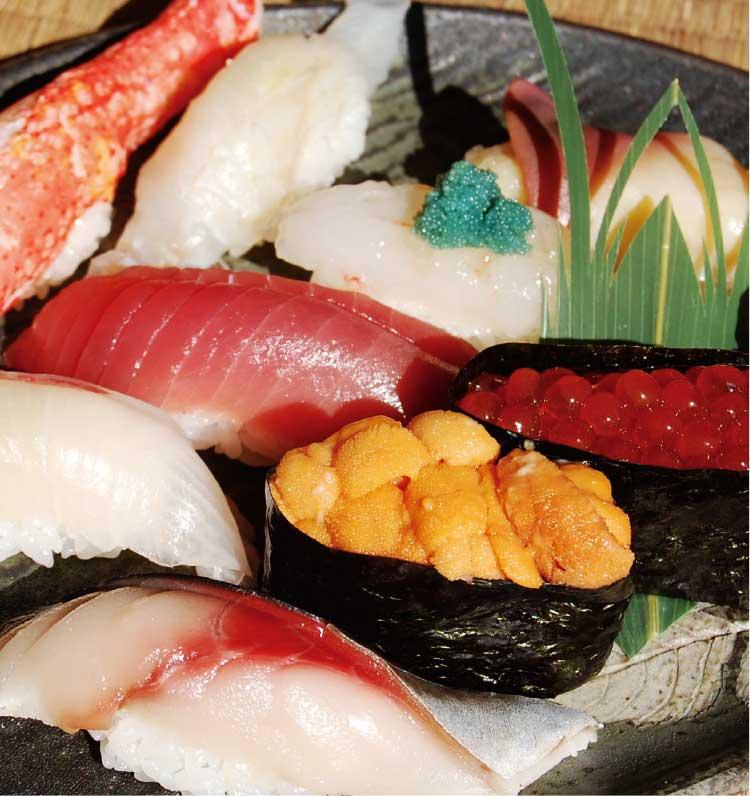 大門福寿しの握り寿司