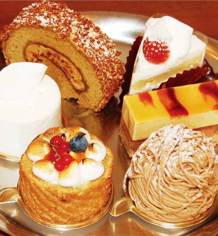 パティスリー・アキラの各種ケーキ