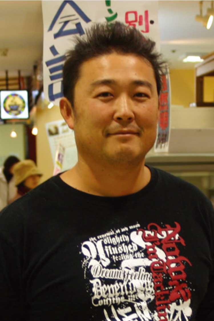 八百ねっと直売所代表高坂重勝さん