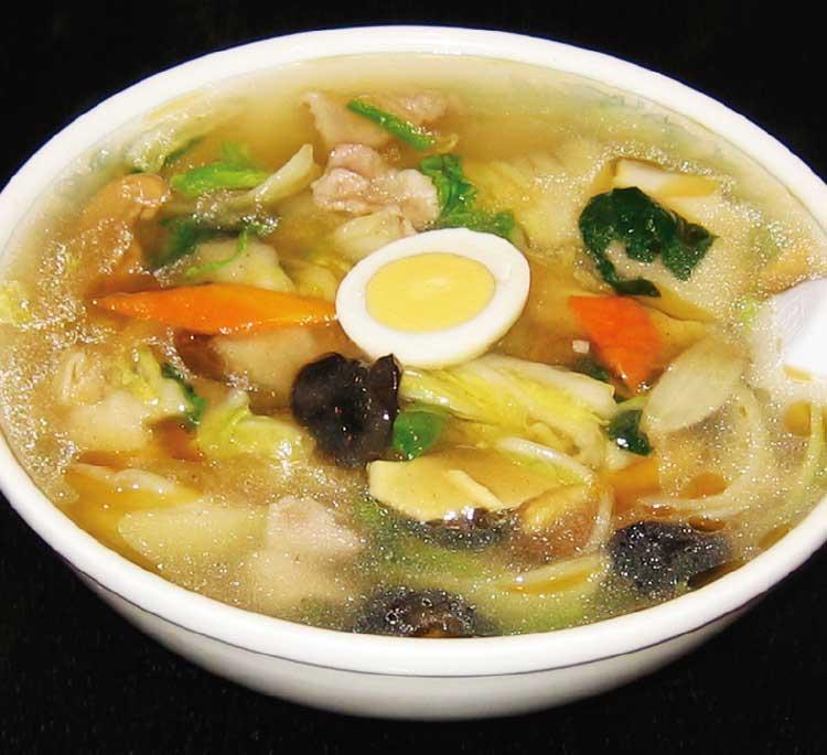 中国料理廣河の熱!! 塩五目麺