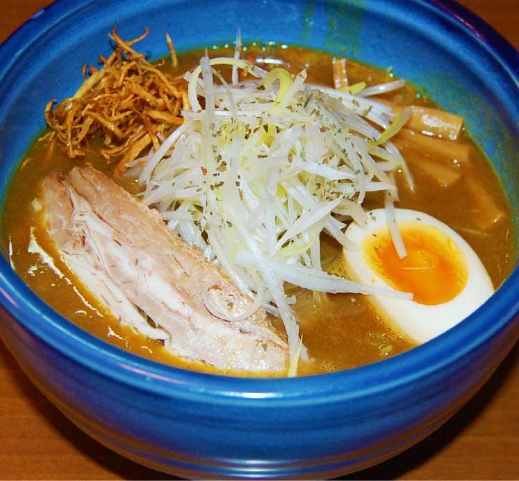 ラーメン専科麺次郎田家店のカレーらーめん