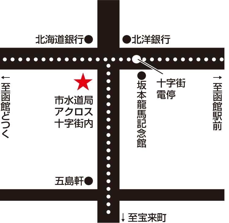 櫻井ラーメン櫻井家本店周辺地図