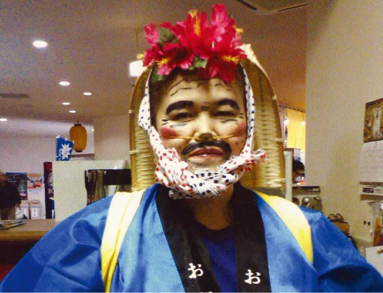 丘の上温泉「富士」支配人の田原重子さん