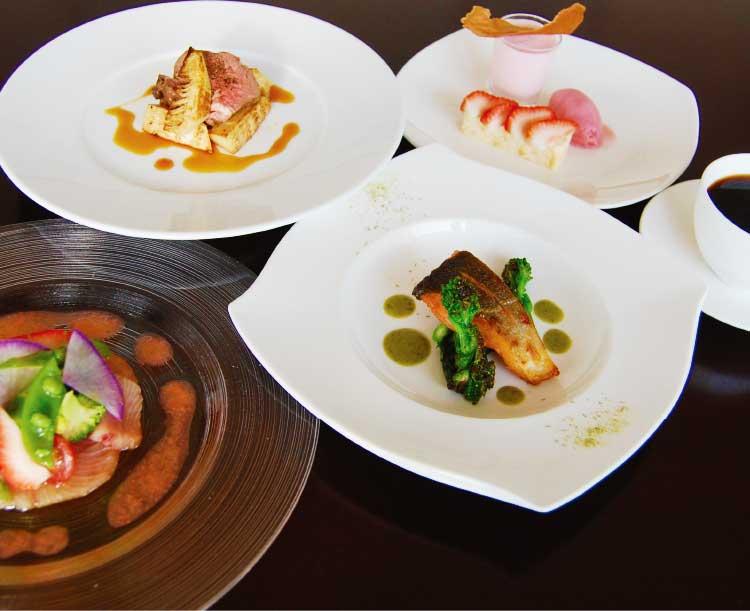 ル・ヴァンの限定ランチコース料理
