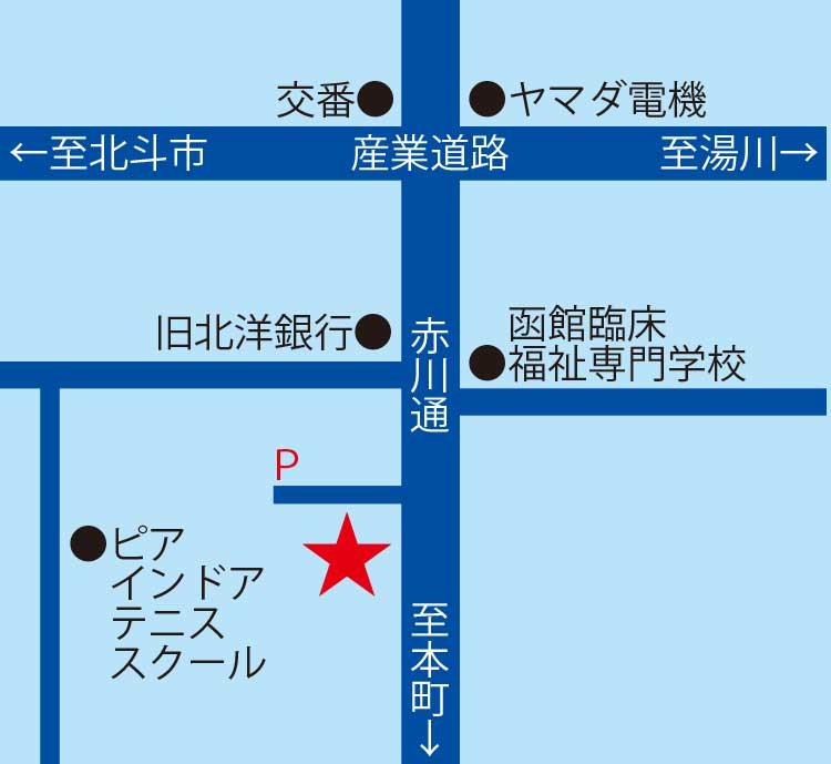 PCaGOGOパートナーショップ周辺地図