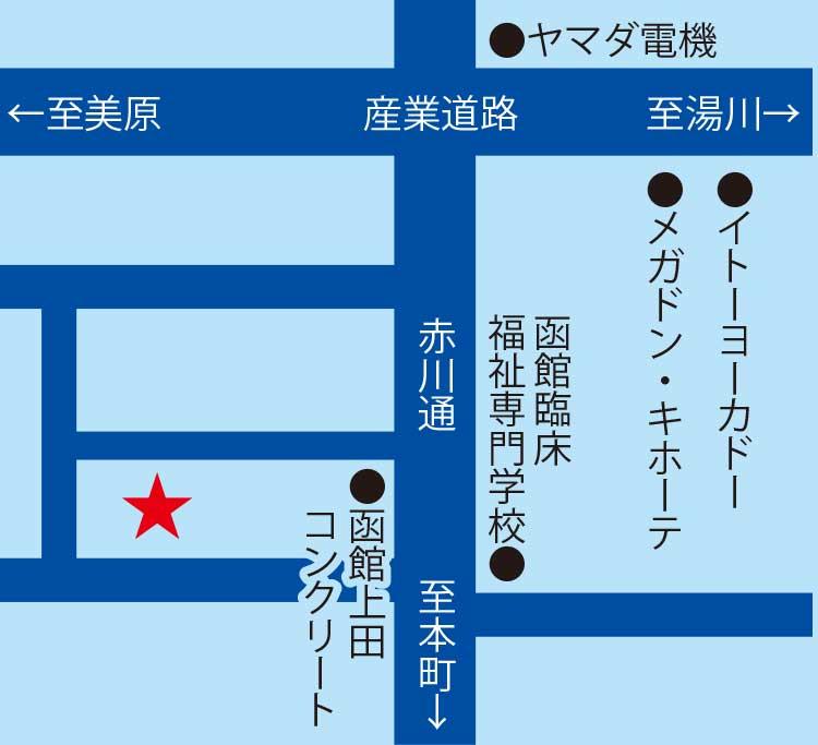 小野寺住設周辺地図