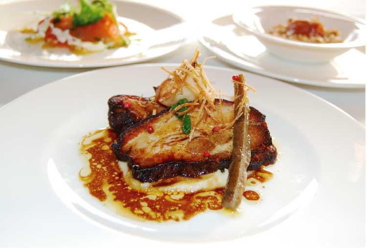 レストランブランヴェールの昼コース料理