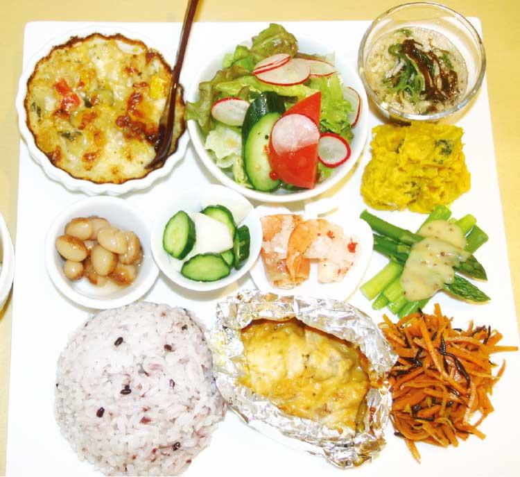 マンマボーノの野菜たっぷりのマンマプレート