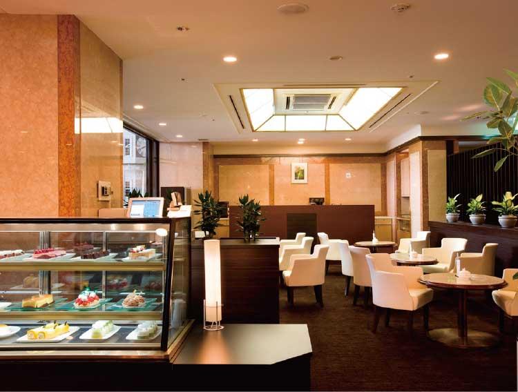 ロワジールホテル函館マーブルラウンジ館内