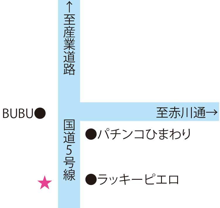昭和食堂周辺地図