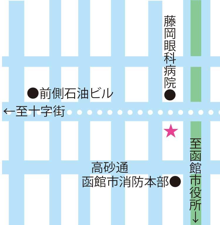 めし屋やままる周辺地図
