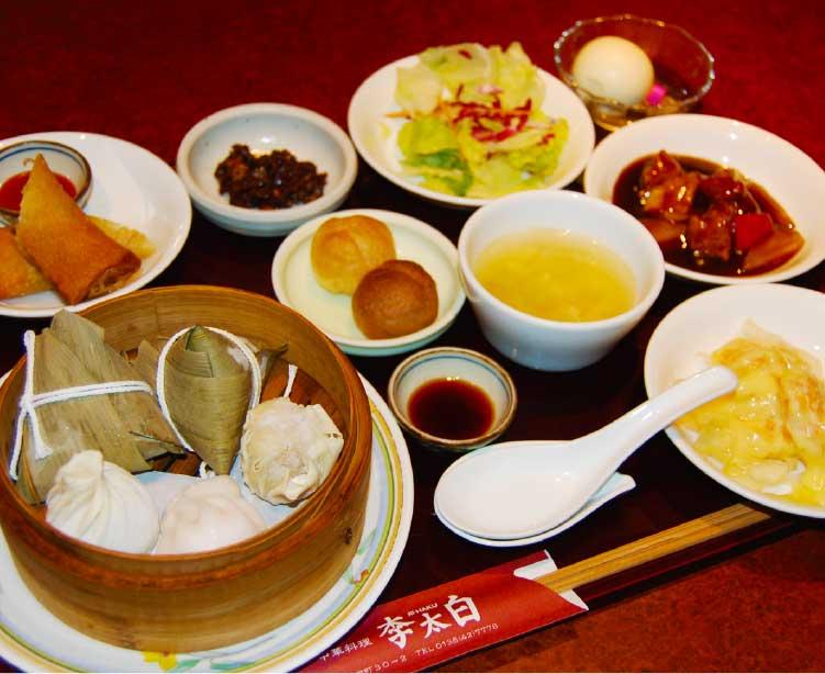 中華料理李太白の李太白セット