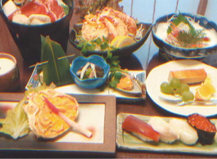 四季花菜の4000円90分飲み放題付きコース料理